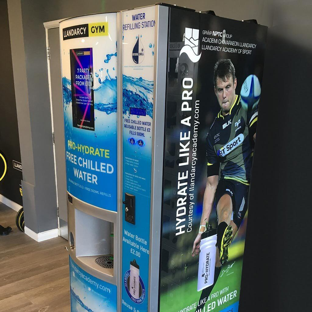 Llandarcy Gym Water Station