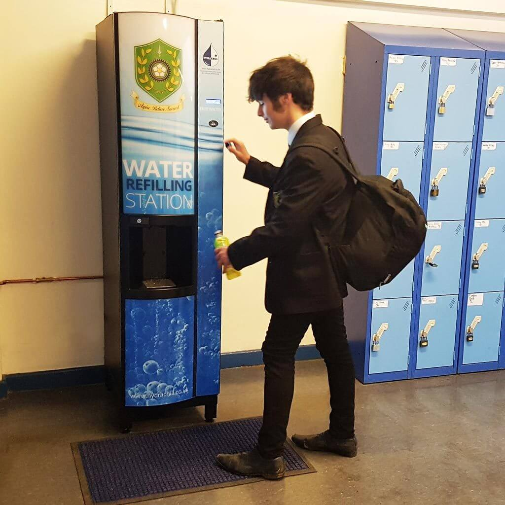 Water Refilling Station - school