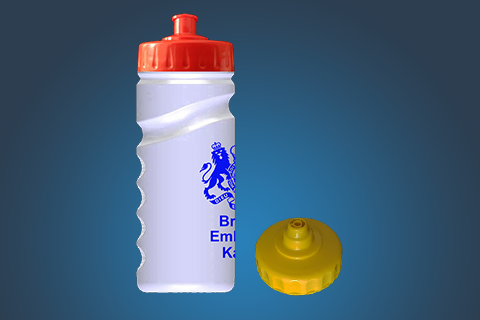 One colour print bottle